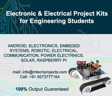 electrical projects, electronics projects, project kits, hardware projects, robotic projects