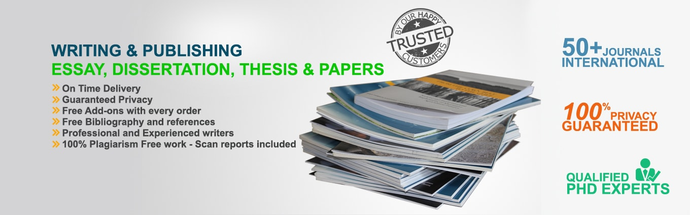 published thesis projects Finalizing thesis help me graduate i have worked on phd level thesis projects, published papers in peer reviewed journals and have also worked with several.